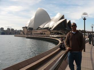Mario at Sydney Opera House