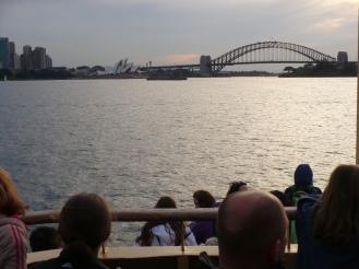 Returning back to Sydney