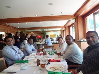 Team Party at the Hyatt 1