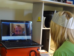 Gail on Skype to Craig