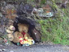 Pooh's Corner at the top of the hill