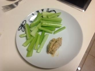 Meal Four - Celery & Peanut Butter