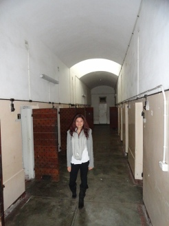 Ciara in the solidtary Confinment Block