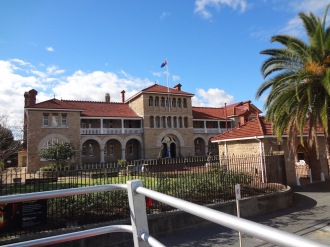 The WA Mint building.