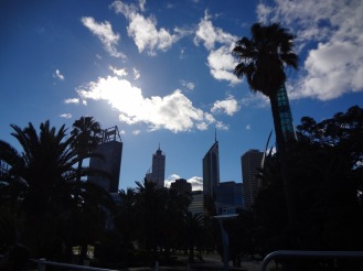 Perth CBD from a different angle.