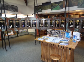 Margaret River Information Centre (Notice all the wine)