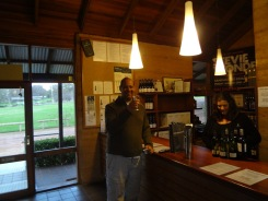 Wine tasting at sandalford Winery
