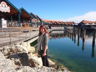 Ciara at Hillary's Boat Harbour
