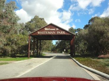 Entrance To Whiteman Park