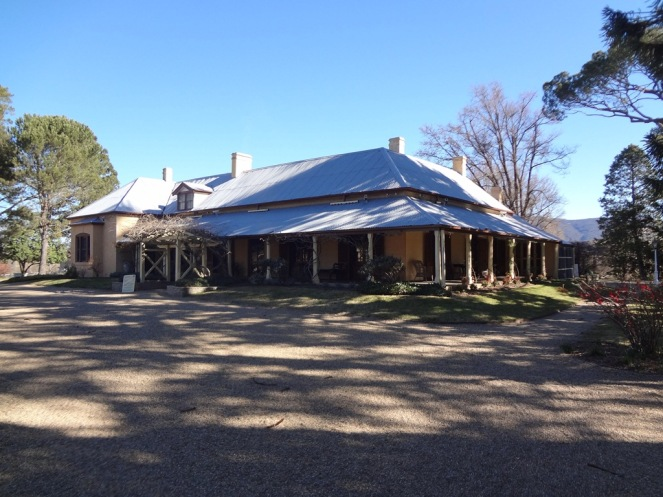 Lanyon homestead.