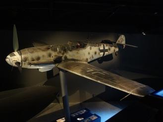 Full size Messerschmitt in the aircraft hall