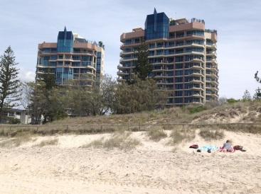 The Oceana Apartment complex at Broadbeach