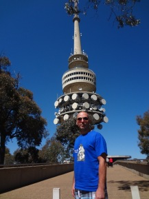 Jimmy at the Telstra Tower, Black Black Mountain