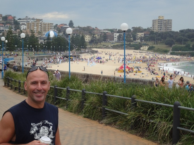 Jimmy at Coogee Beach