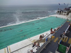 Bondi Beach Sea Pool, 75 Meters long