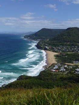 The view down into Stanwell