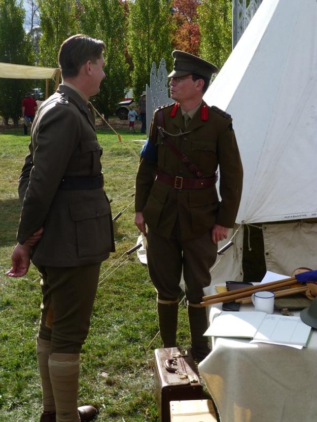 A couple of officiers