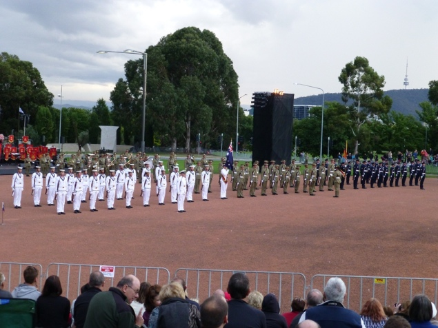 The Federation Guard on parade.