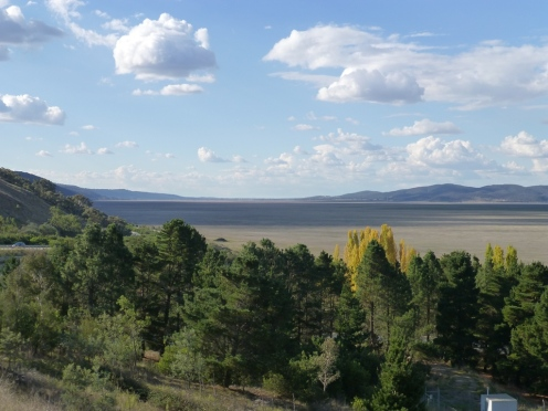 View looking north, still no water!