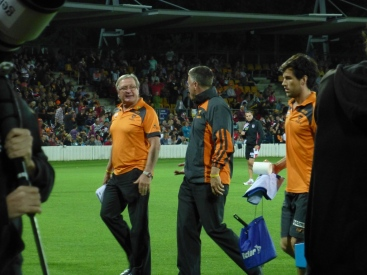 GWS coach Kevin Sheedy (A legend apparantly!)