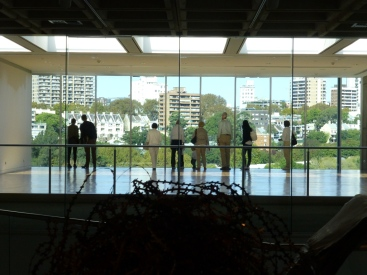 A room with a view at the Art Gallery of New South Wales