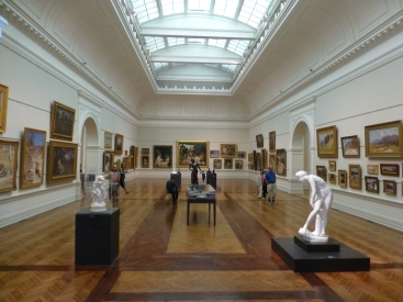 One of the galleries.