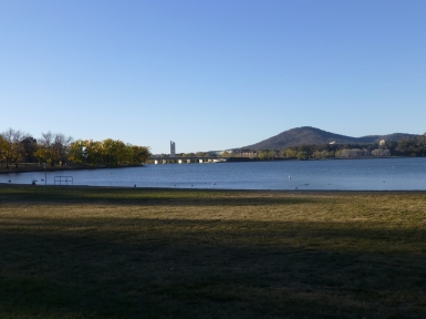 Lake Burley Griffin at Kington Foreshore
