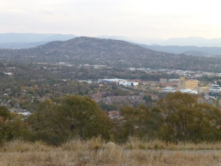 Canberra Hospital with my apartment complex in the foreground.