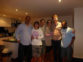 Myself, Verity, John, Hazel, Andrew & Suban