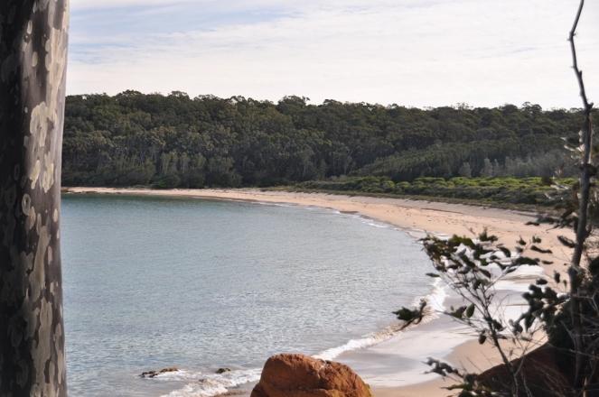 Remote beach