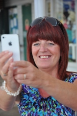 Gail taking a 'selfy'