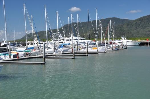 The marina at Cairns