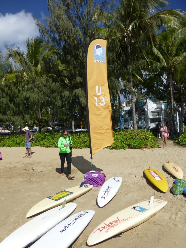 The under 13 section of the SLC at Palm Cove.