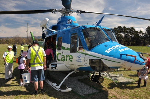 The SnowyHydro Air Ambulance