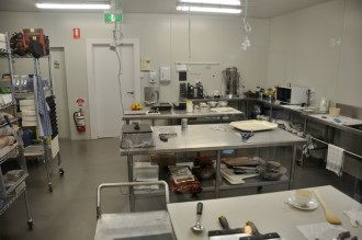 "This is where the magic happens at the Robyn Rowe ""Chocolate d'Or"""