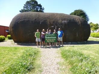 That's a big potato!