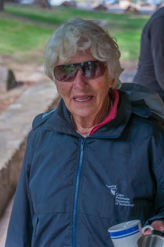 Patrick's mum Marge enjoys her camping!