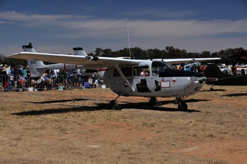 The first of several Cessna Birddogs at the airshow...