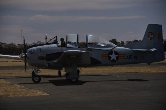 Number four of the T-28 Trojans