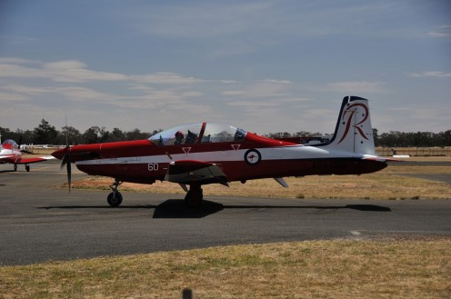 One of the RAAF Roulettes