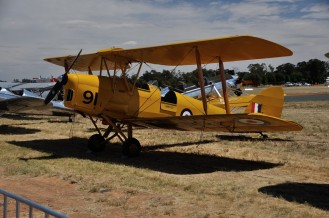 A De Havilland Tiger Moth