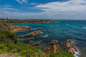 Fantastic coastline near Narooma