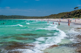 My favourite beach, Hyams Beach, NSW