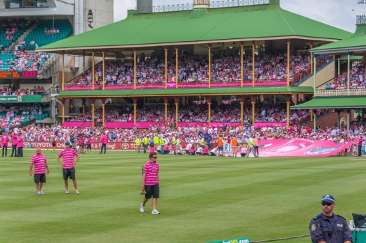 The members pavilion at the SCG