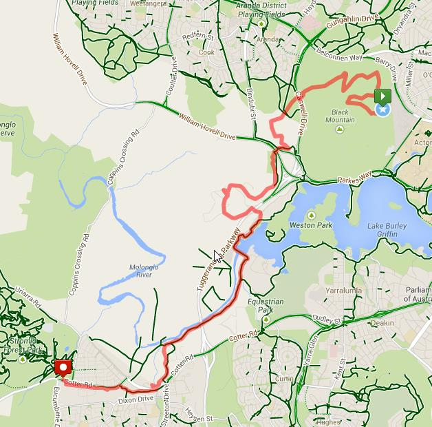 Section 5 Route