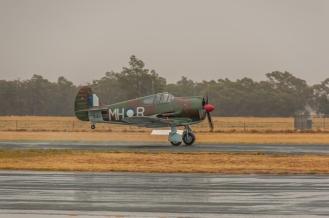 The Boomerang on takeoff