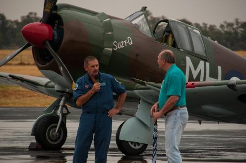 The Boomerang pilot, Doug Hamilton chats to the annoucher