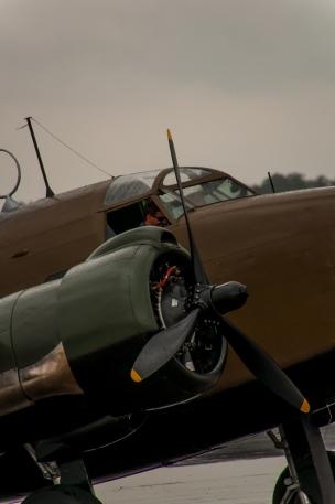 Lockheed Hudson being readied