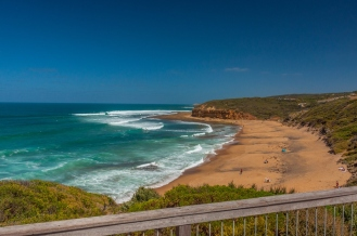 The iconic Bells Beach