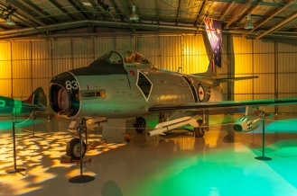A Sabre inside the museum itself